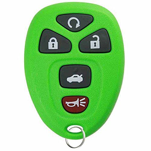 KeylessOption Green Replacement 5 Button Keyless Entry Remote Control Key Fob Compatible with 22733524  //Price: $ & FREE Shipping //    #car #motor #driver #sensor #carliker #racer #premiumcar #sportcar #automobile