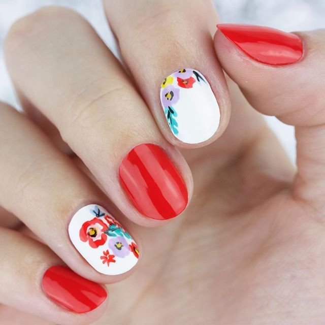 Instagram media by chelseaqueen - Fun fact: I'm beyond obsessed with the @foodnetwork...especially @thepioneerwoman! Her recent collection for @walmart makes for some great #nailart inspo!