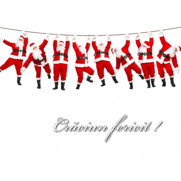 """Magnet cu Mosi Craciun, un """"Secret Santa"""" de efect pentru toti colegii de birou, disponibil doar pe www.mopo.ro"""