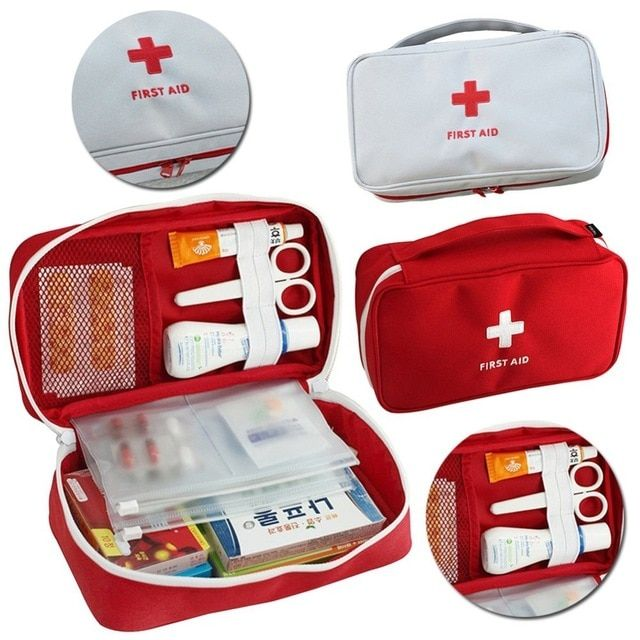 Portable First Aid Kits Emergency Medical Survival Box