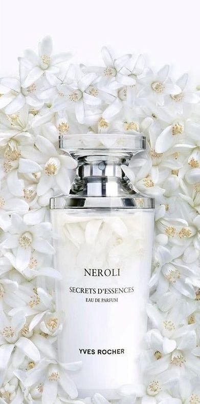 Eau de Parfum- Neroli- Yves Rocher. A bouquet of white neroli and orange blossom absolute - very true, genuine scent, slightly bitter but very tender. Smells like Italian summer!
