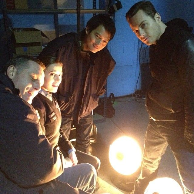 Jason Beghe, Mariana Squerciati, Archie Kao and Jesse Lee Soffer