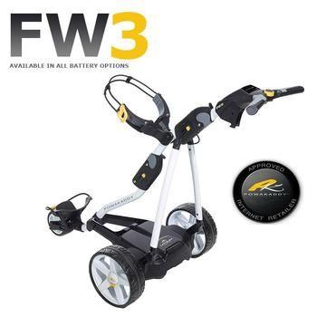 Powakaddy FW3 Electric Trolley White