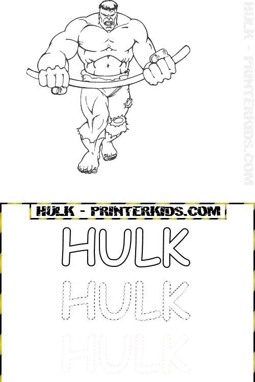 Ausmalbilder Hulk Hulk Zum Ausdrucken: 18 Besten Hulk Ausmalbilder Bilder Auf Pinterest