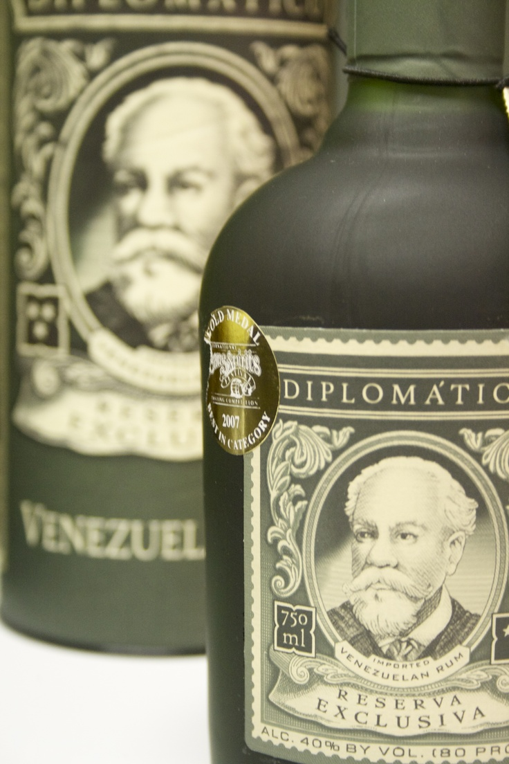 Ron Diplomático - Dark rum from Venezuela - this barrel aged rum boasts a deep vanilla/caramel/cane sugar like rounded flavor. Best I ever had