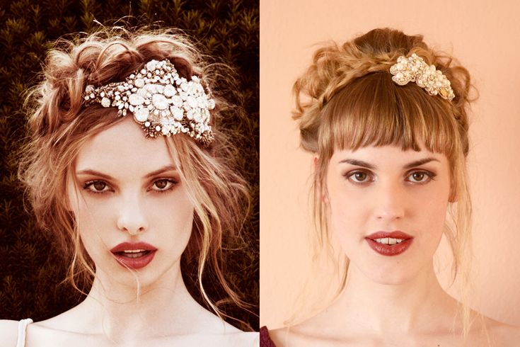 Retromantisch retro fashion blog - How to: Romantic updo with vintage hair pin