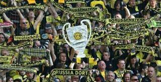 Champions League Pokal für Borussia Dortmund