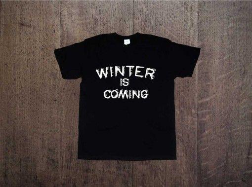 WINTER IS COMING Game of thrones Gra o tron Zapraszamy na www.ddshirt.pl men t-shirt koszulka męska moda odzież fashion