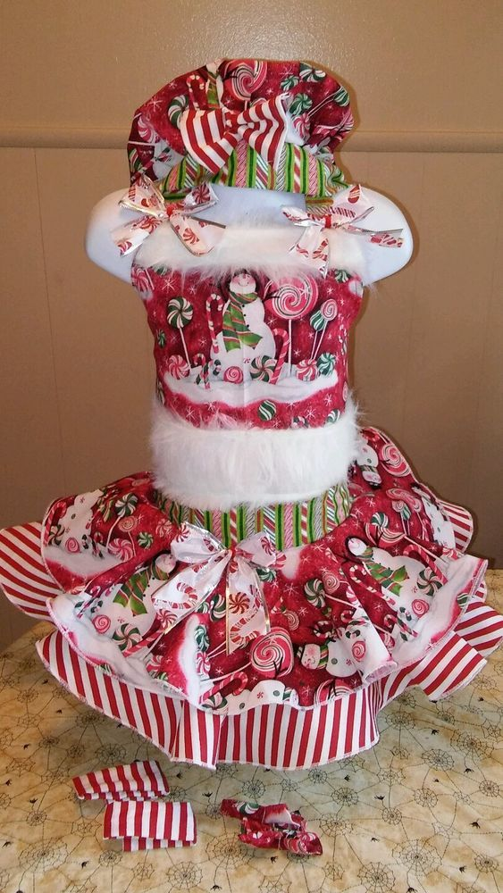 National Pageant Casual Wear Dress.  Christmas  Size 3-5t #Handmade #DressyEverydayHoliday