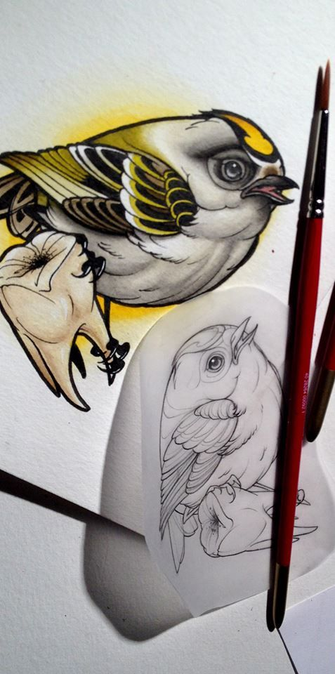 Neo Traditional Bird | Tattoos and Trends | Pinterest ...