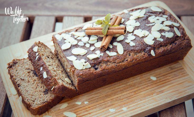 Zdravý sladký chlieb bez múky a cukru | We Lift Together