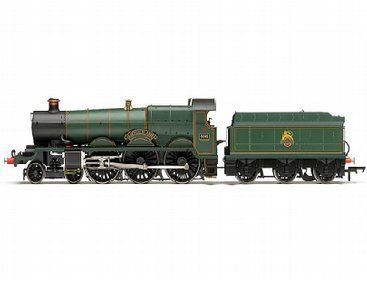 The Hornby BR 4-6-0 'Glastonbury Abbey' 4000 Class, in the range of Steam Locomotives accurately recreates the real life locomotive. This model train features extensive detailing.    The Star Class was a G. J. Churchward designed locomotive for Mixed Traffic work.  Construction of the production class commenced in 1907 and continued until 1923.  During that time some 72 were built.