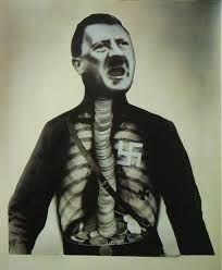 John Heartfield Adolph The Superman 1932