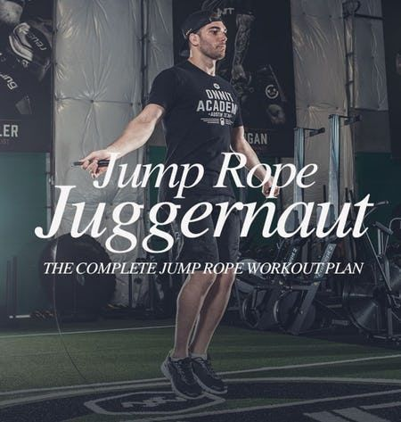 Become a Jump Rope Juggernaut with this Complete 4 Week Workout Plan | Ectomorph Workout Plan…