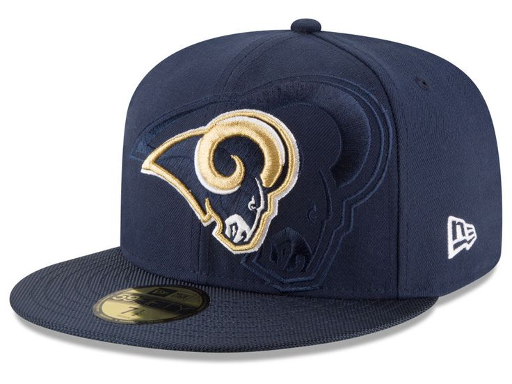 20840524 - Los Angeles Rams New Era 2016 Official NFL Sideli…