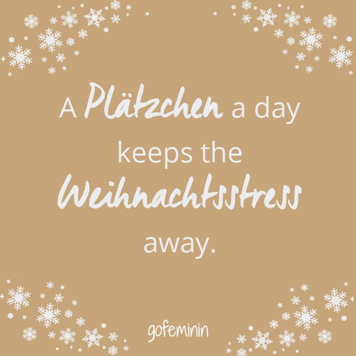 Dazu Plätzchen in den Adventskalender (so viele Plätzchen wie Tage bis Weihnachten)