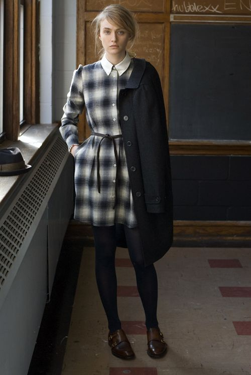 Plaid dress at St Patrick's Old Cathedral School, obsessed with getting a plaid dress