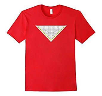 Isosceles Triangle Engineer Architectural Ruler T-Shirt #architect #architectural #isosceles #triangle #engineer #tee #shirt #tshirt #ruler #geometry #geometric #nerd #geek