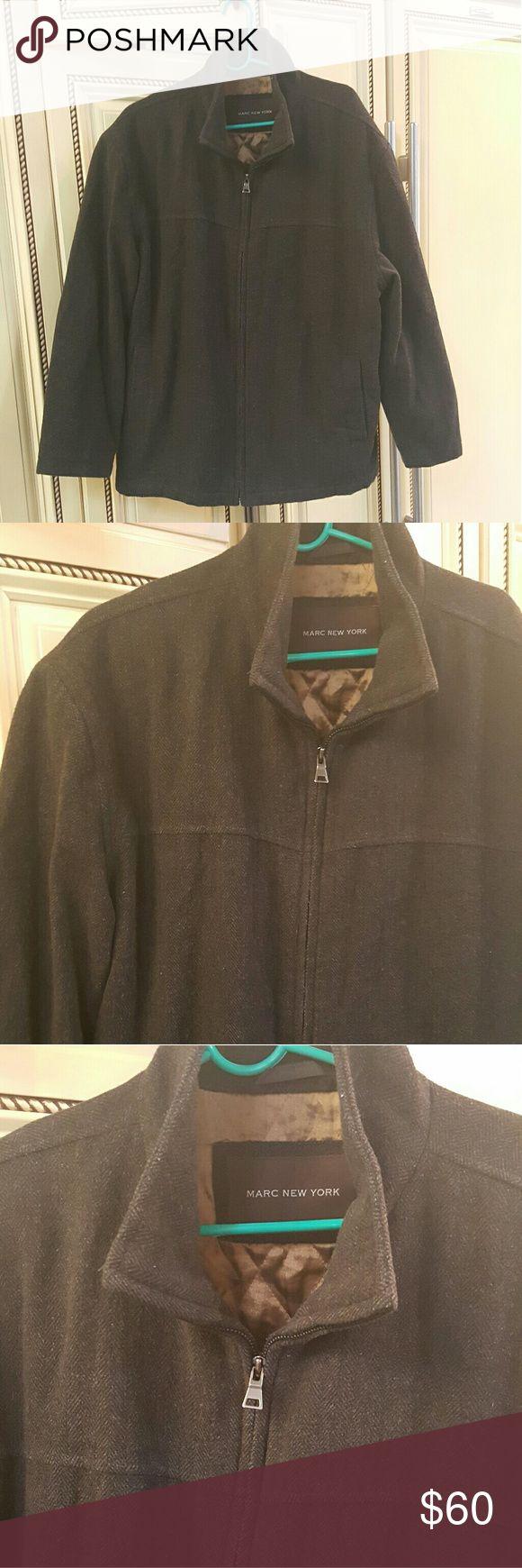 MENS- Marc New York peacoat Mens Marc ny brown Peacoat in great condition like new. Marc New York  Jackets & Coats Pea Coats
