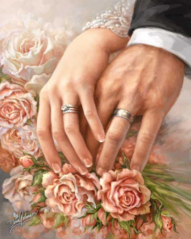 Dona Gelsinger. Свадьба