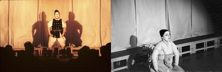 IL DELEGATO DI POLIZIA  -                                                 bn: Scene, costumi e luci di Renato Morselli. col: Costumi di Sakura Fujita, scene e nuove luci di Renato Morselli
