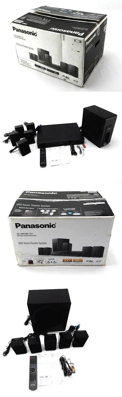 Home Theater Systems: Panasonic Home Theater System Sc-Xh105 (Black) 5.1 Surround Sound - Black -> BUY IT NOW ONLY: $145.34 on eBay!