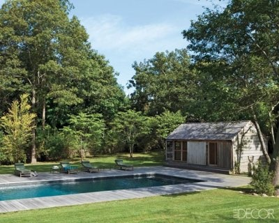 Hamptons style pool for the country.YAY