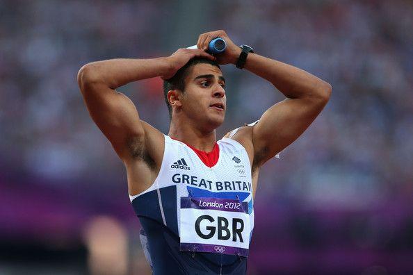 Adam Gemili - 4 by 100 metres relay.