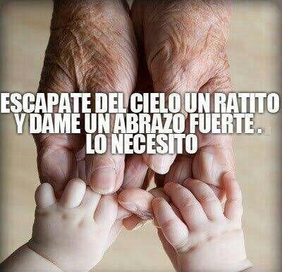 Extrano a mi abuelo mucho mucho, te quiero abuelo :)
