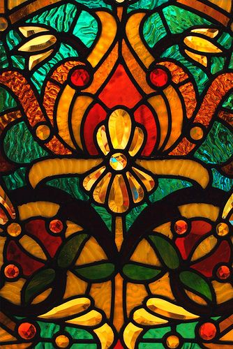Hackley Stained Glass by PhotoDocGVSU, via Flickr