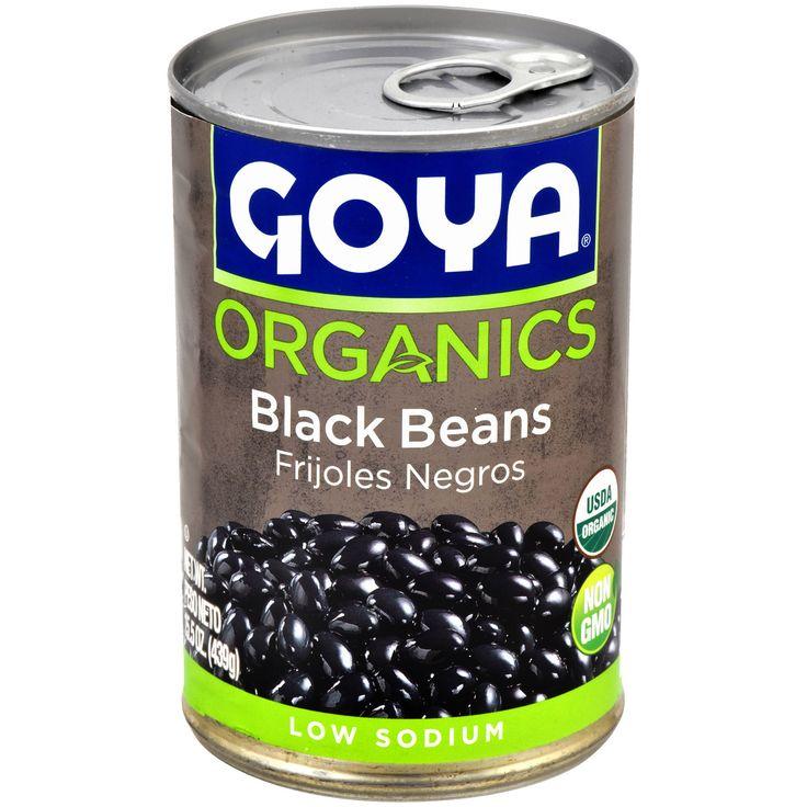 Image result for goya organic black beans