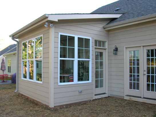 Prefab home additions home addition photo gallery home for Modular sunroom