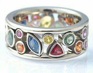 anillos #diamantes #oroblanco #piedras #precisosas #rubie #esmeralda #jade #diamond #gold #ring