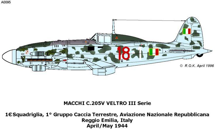 Macchi C 205 Veltro