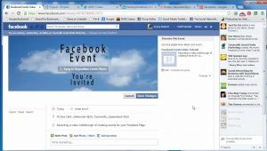 Facebook Events Page - Create Facebook Events Page | Ceate a Facebook Event Page in Mobile. - nobtek