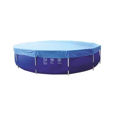 Cover Frame Pool rond 360  Houd het water in je zwembad schoon en fris door het bad af te dekken met dit afdekkleed. Geschikt voor zwembaden met een doorsnede van 360 cm.  EUR 14.99  Meer informatie