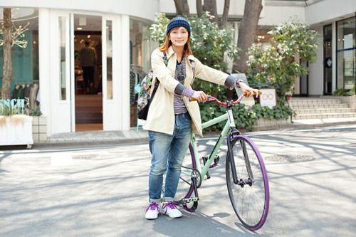 ロードバイク シングルギア | 自転車美人スナップ | For M