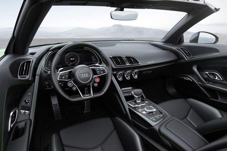 Audi R8 V10 Spyder Plus: o conversível verde e potente com 610 cv | WEB LUXO