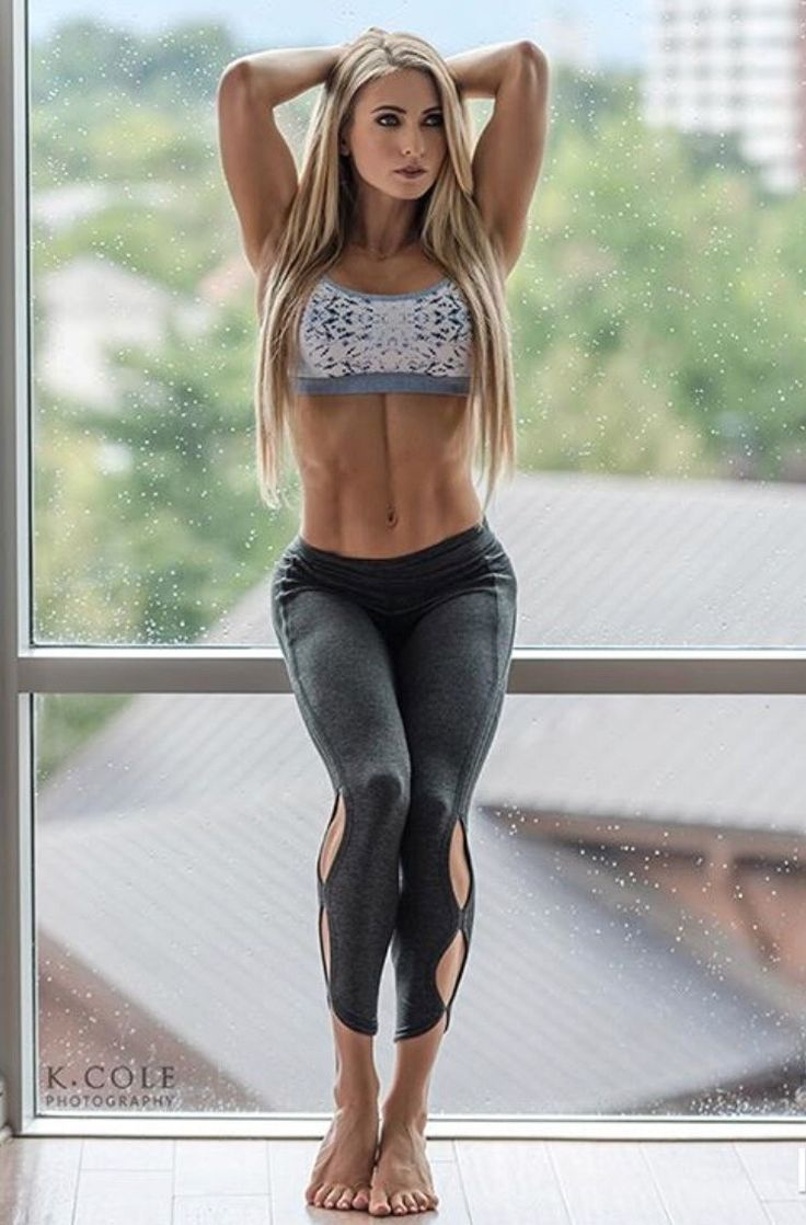 Female Fitness Beauties A Sports Fit Women Fitness