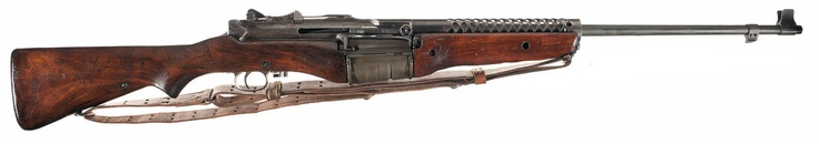 The M1941 Johnson Rifle was an American short-recoil operated semi-automatic rifle designed by Melvin Johnson prior to World War II. The M1941 competed unsuccessfully with the U.S. M1 Garand rifle, though it was manufactured and issued in limited numbers to U.S. forces.