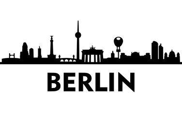 Vektor: Skyline Berlin