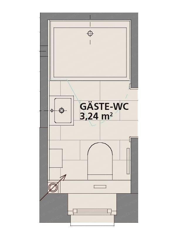 Gäste-WC: Ein Mini-Spa für Ihren Besuch – #Besuc…