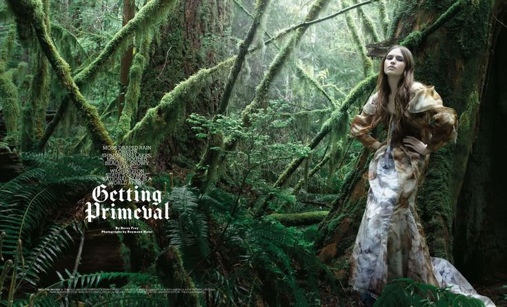 "Life in pics: Editorials: ""Getting Primeval"" by Raymond Meier"