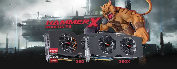 [Pichau dos Deuses!] Placa de Vídeo PCYES AMD Radeon R9 390 HammerX 8GB GDDR5 512Bit - R$1098,99