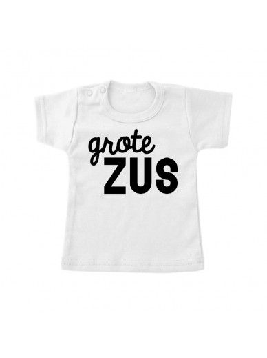 T-Shirt Grote Zus Wit