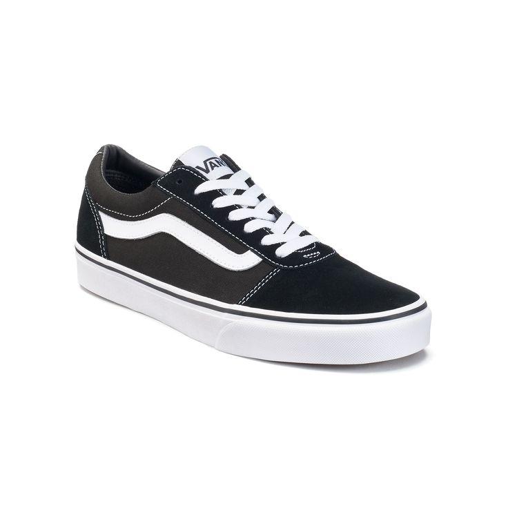 Vans Ward Men's Suede Skate Shoes, Size: medium (11.5), Black