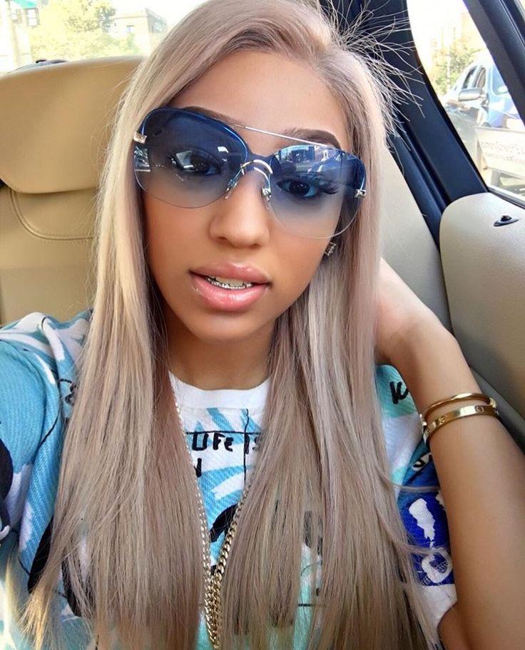 Ella Bands Ash Blonde Grey Hair Slay Ash Blonde Hair