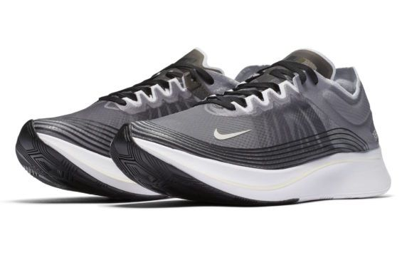 43de1ffced5 Official Look At The Nike Zoom Fly SP Black Light Bone
