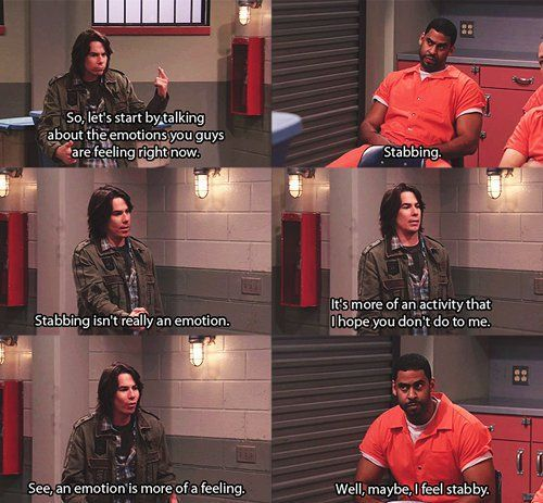 I have to admit every now and then I watch Icarly because Spencer and Sam crack me up.