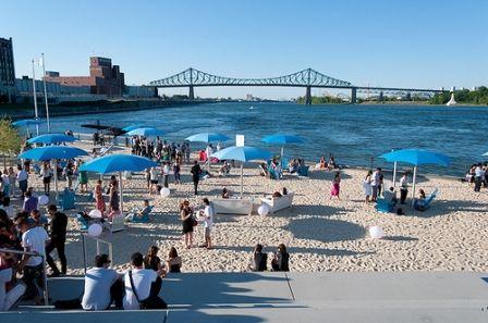 Cet été, retrouvez nous à la plage de l'horloge à Montréal! - Château Gassier